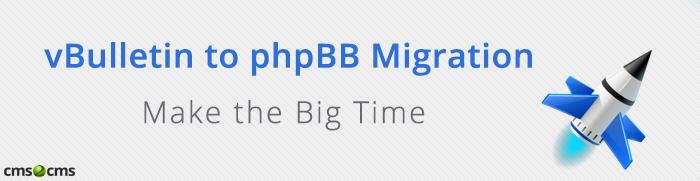 Move vBulletin to phpBB