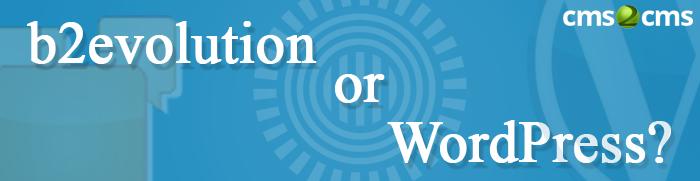 b2evolution or WordPress Prezi