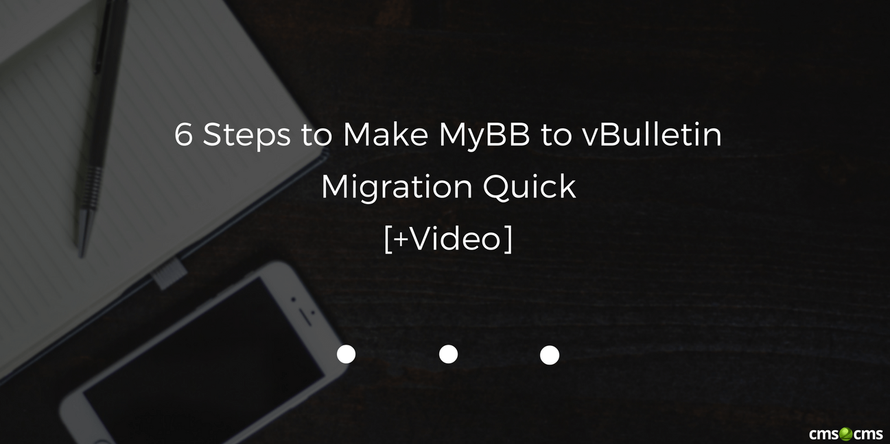 mybb to vbulletin migration