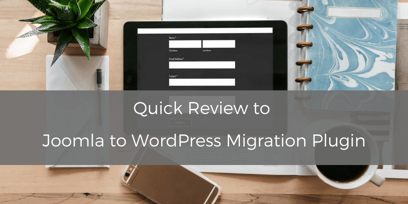 Joomla to WordPress migration plugin