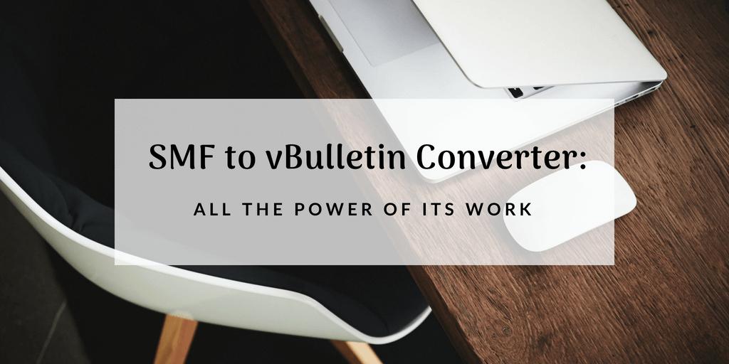 SMF to vBulletin Converter