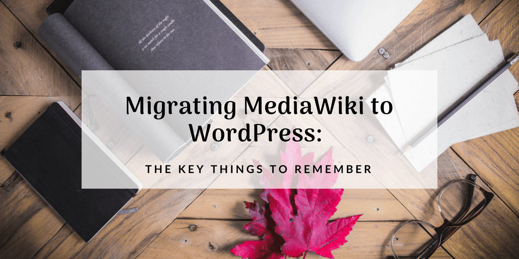 migrating mediawiki