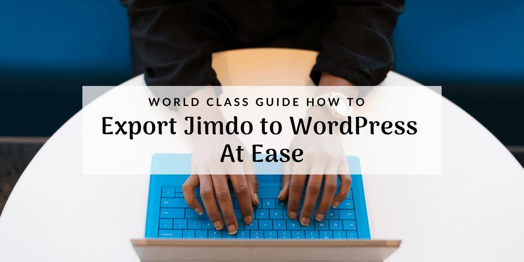 export-jimdo-to-wordpress