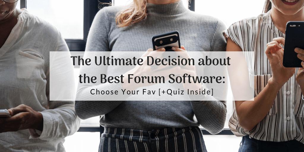Best Forum Software