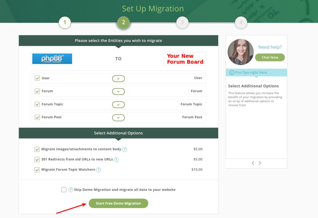 phpBB migration