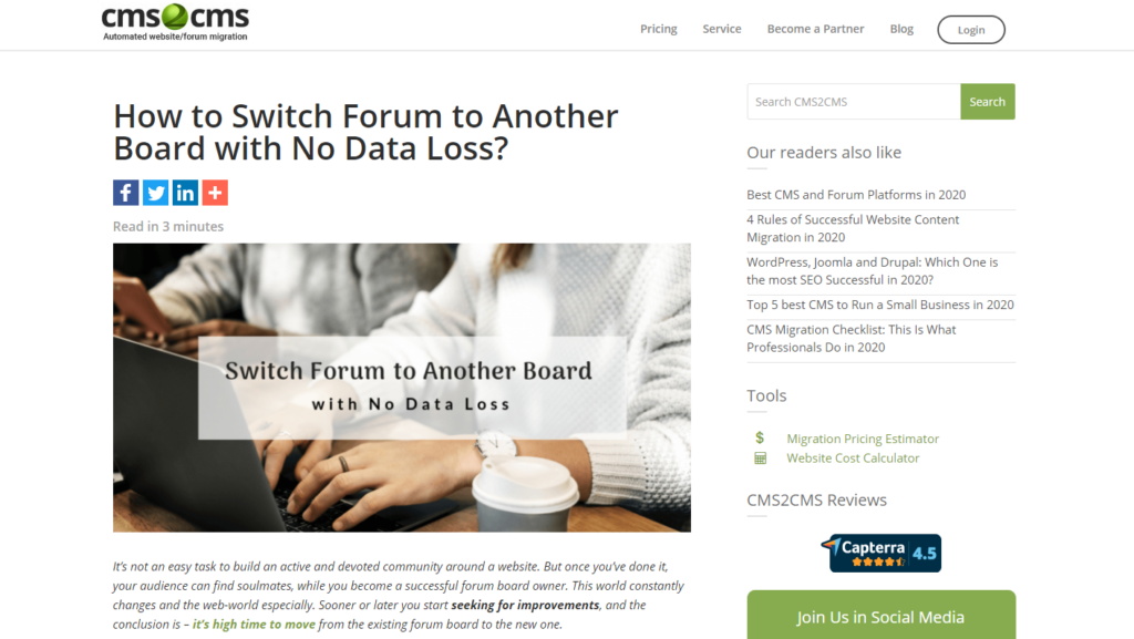 how to switch forum board