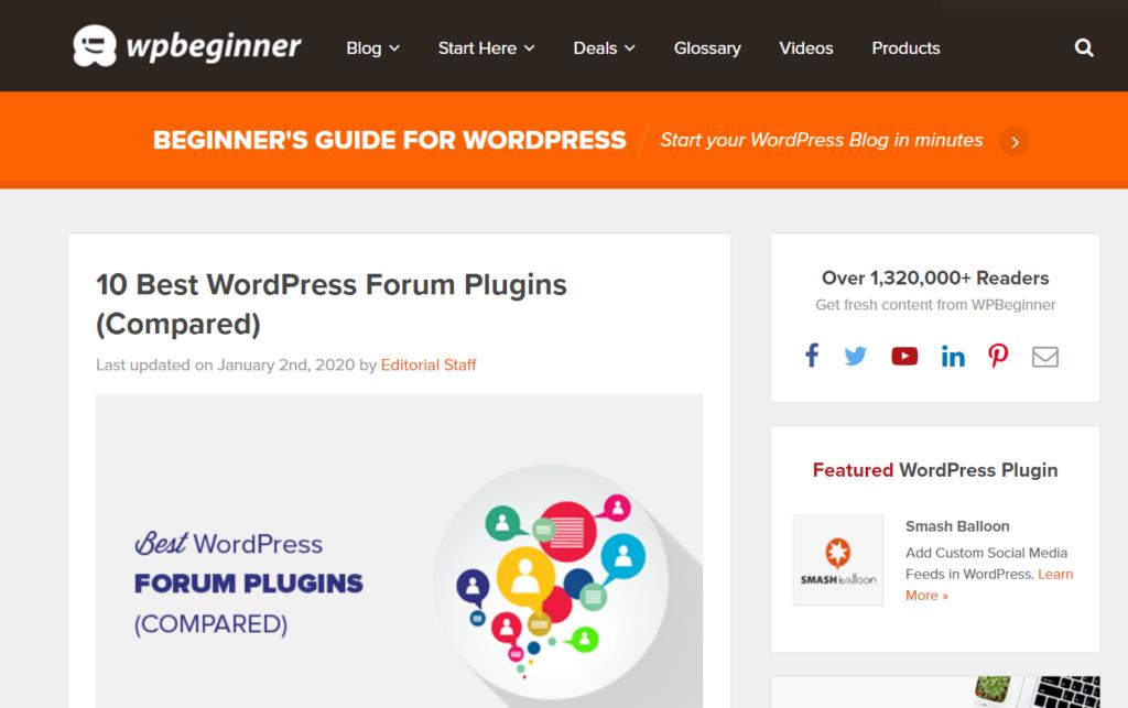 ten best wordpress plugins for forum board