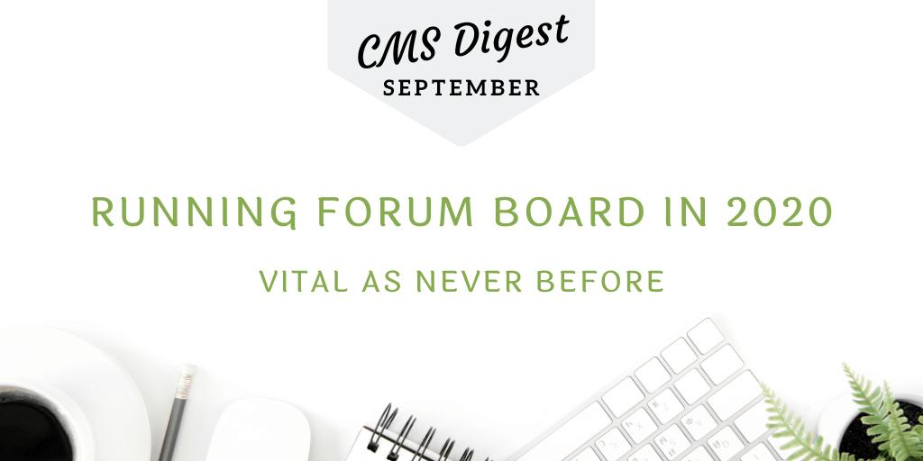 cms digest forum board