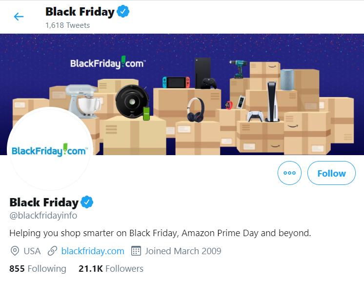 black friday info twitter