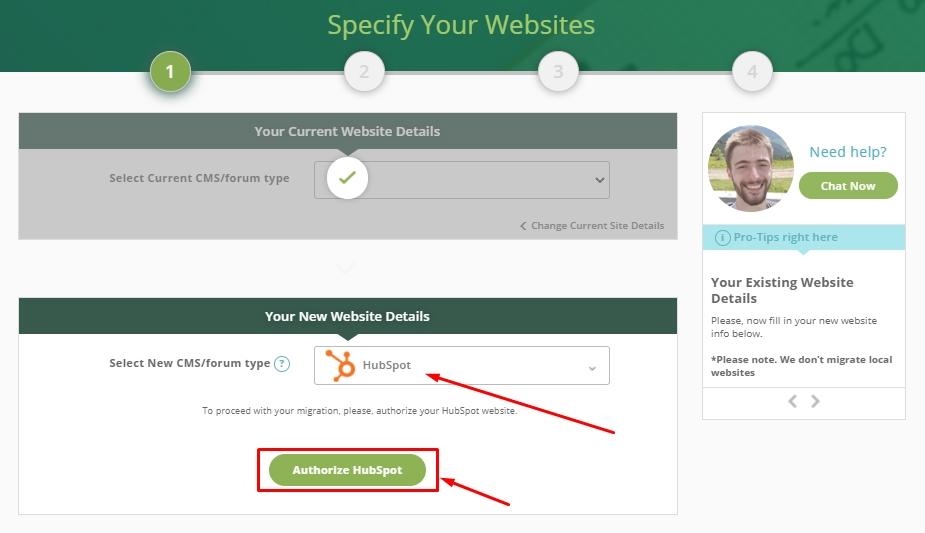 autorize hubspot account
