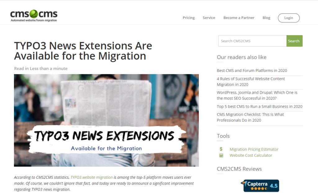 typo3 new migration release