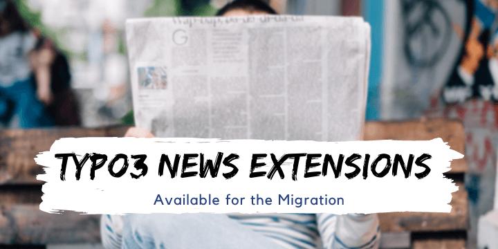 typo3 news migration