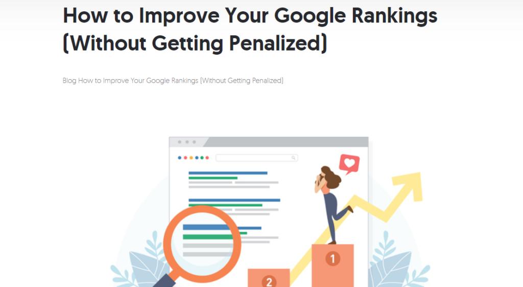 improve google rankings in 2021