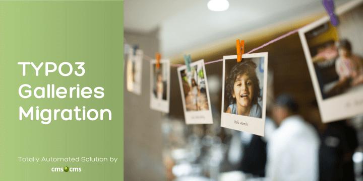 TYPO3 galleries migration