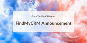 findmycrm announcement